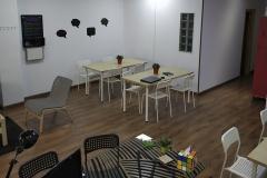 Coworking Madrid Paseo de Extremadura 28011 mesas