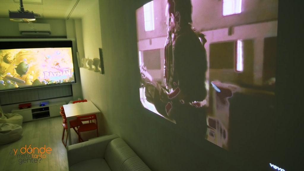 sala proyeccion juegos ps4