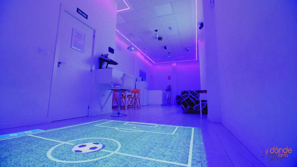 Sala juegos interactivos